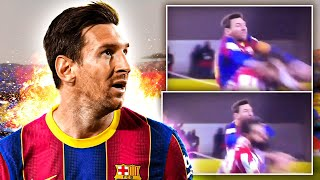 Lionel Messi Sent Off In DISGRACE After Punching Opponent! | ERU