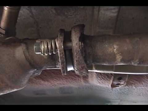 1995 Subaru Legacy Fixing Exhaust Leak Youtube
