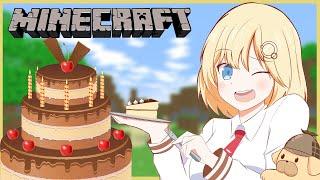 【Minecraft】Birthday Minecraft!