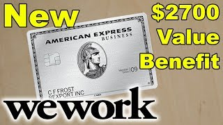 Amex Business Platinum: New $2700 Value Benefit Explained