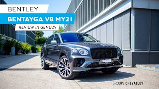 New Bentley Bentayga V8 MY21 in Geneva Review | Groupe Chevalley