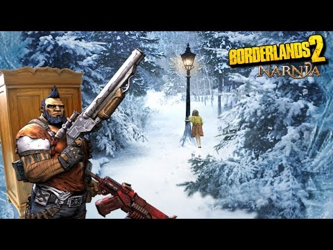 Narnia en Borderlands 2 (Easter egg) + DLC Navidad [Walkthrough, 1080p]
