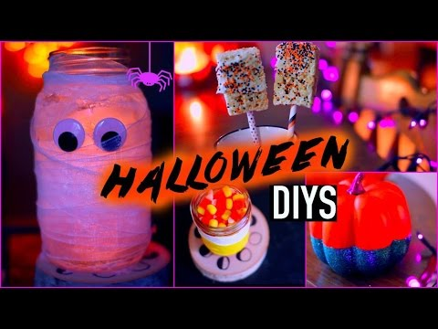 diy halloween decorations treats youtube