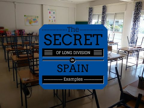 European Long Division Examples - Spain Wagoners Abroad