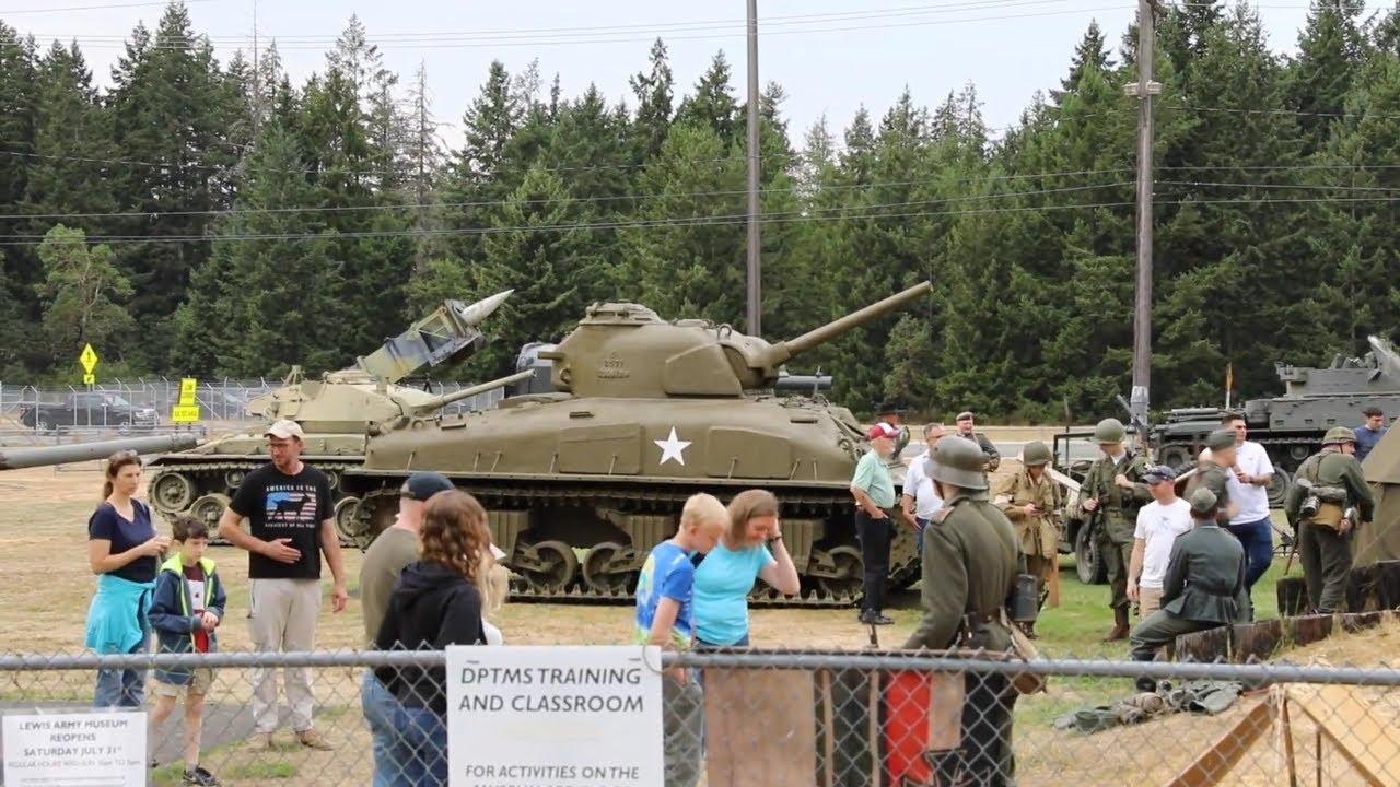 Reopening • Lewis Army Museum Washington, U.S.A