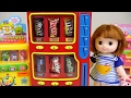 Candy Dispenser And Baby Doll, Pororo, Poli Toys video