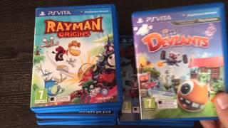 Мои игры на ps vita! :3