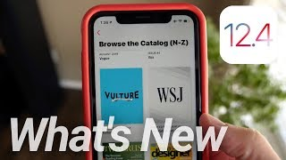 iOS 12.4 Update Released! What's New & Apple Card Update