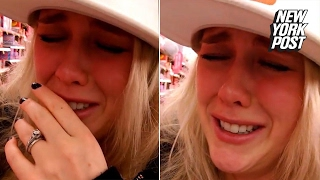 Pregnant woman has a breakdown over her favorite candy bar