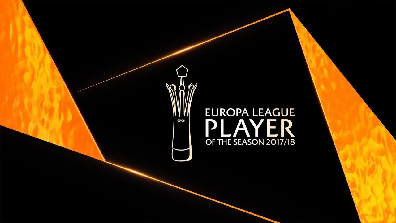UEFA Europa League PLAYER of the Season 2017/18 shortlist ...
