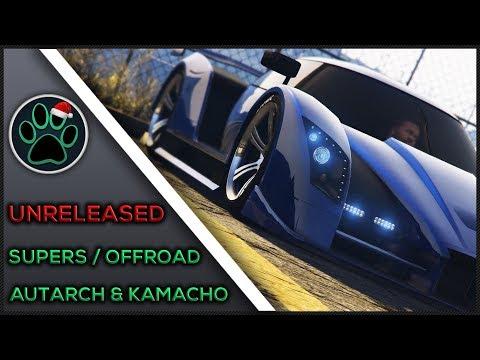Doomsday Heist DLC UNRELEASED SUPER / OFFROAD - Autarch / Kamacho Customization - Vehicle Showcase