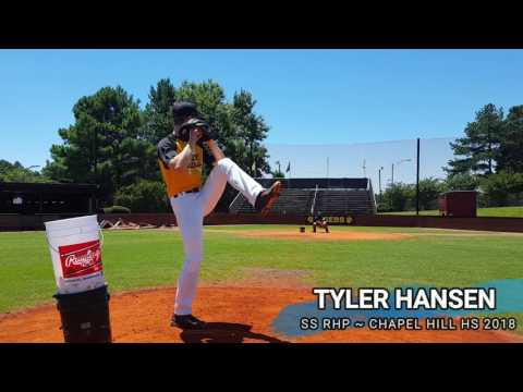 Tyler Hansen SS RHP ~ Baseball Recruiting Video ~ Class of 2018