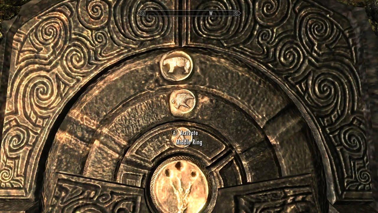 Skyrim Folgunthur Door Code