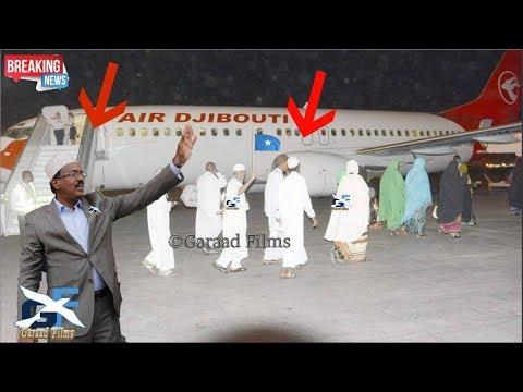 DEG DEG Farxad Xujeeyda somalia o safarkooda Bilaabaya iyo MD Farmaajo o macsalaameyay Daawo Full