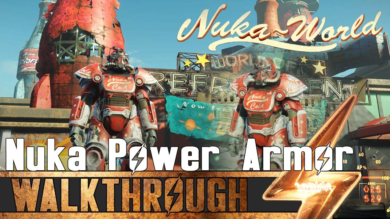 New Nuka World Power Armor Sets | Fallout 4