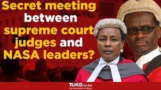 Secret meeting between supreme court judges and NASA leaders?