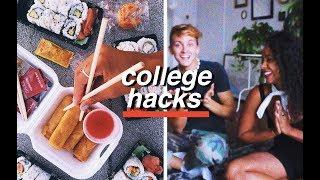 18 TIPS TO WIN AT COLLEGE | Damon and Jo
