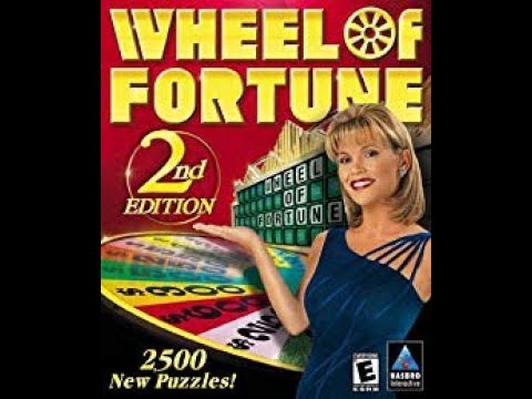 Wheel of Fortune 2nd Edition PC ORIGINAL RUN Game #5