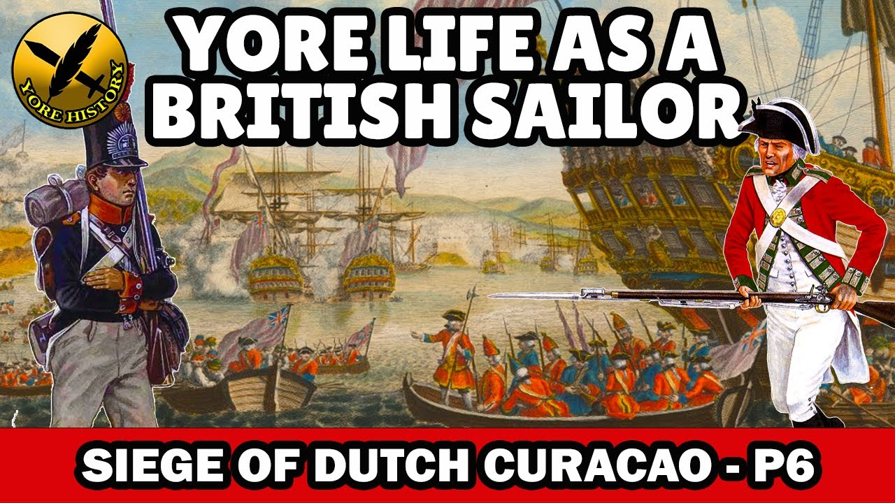 Could YOU have survived as a British Sailor of the Napoleonic Era? - The Siege of Curacao - Part 6