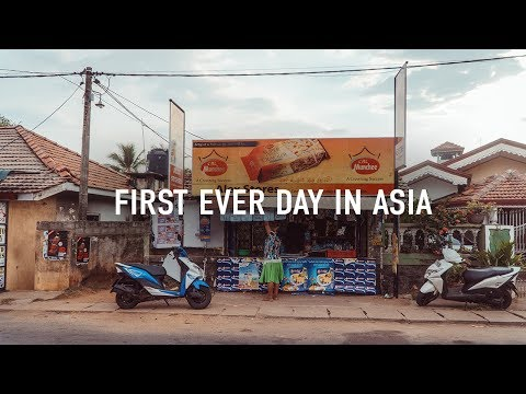 First ever day in ASIA // SRI LANKA