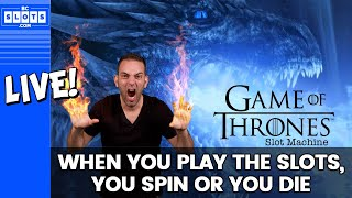 🔴 LIVE - #GOT 🐲 Brian Slays Dragon Slots 🎰 San Manuel Casino ✪ BCSlots.com