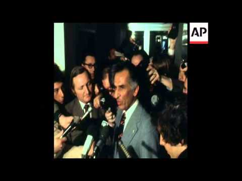 SYND 17-3-74 OPEC MEETING IN VIENNA AND AMOUZEGAR REPORTS TO PRESS AFTER MEETING