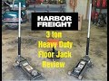 Review On Harbor Freight S 3 Ton Heavy Duty Floor Jack mp3