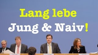Komplette Bundespressekonferenz vom 20. März 2017