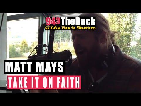 Matt Mays - Take It On Faith (Acoustic)
