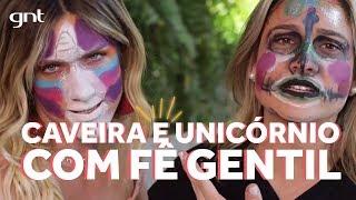 Gio Ewbank e Fernanda Gentil arrasam na make sem espelho | Amores do Gioh no GNT
