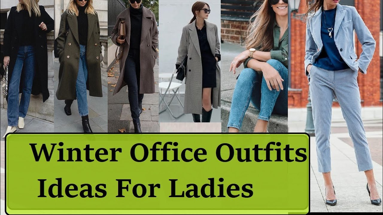 Winter Office Outfits for Ladies | Winter Professional Outfit Lookbook | Winter Fashion
