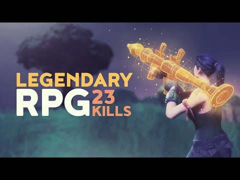 LEGENDARY RPG – 23 KILL GAME! (Fortnite Battle Royale)