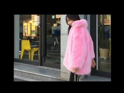 Funny Asian With Fur Coats