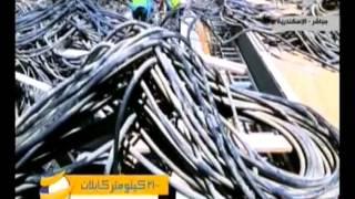 """بالفيديو.. السيسي يشاهد فيلمًا تسجيليًا عن مجمع """"إيثيدكو"""" بالإسكندرية"""