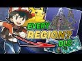 AWFUL Idea? Every Pokemon Region As DLC In Let's Go Eevee And Let's Go Pikachu For Switch