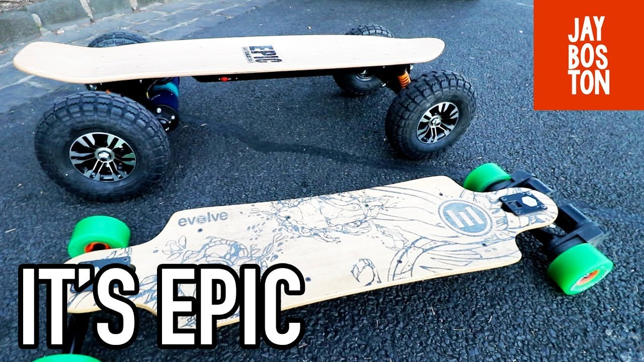 Dominator From Epic Skateboards First Ride Electric Skateboard