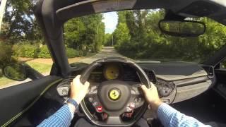 2013 Ferrari 458 Spider POV Test Drive