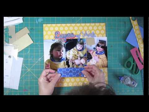 Scrapbooking Process A Long Title