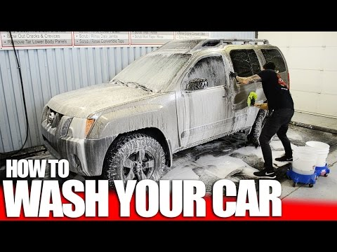 89968af83759 How to Wash Your Car Quickly - Great Car Wash Kit - YouTube