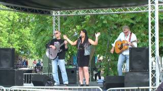 Cherry Lee Mewis and the Blue Gems - Wade in the Water - Bedford River Festival 2010