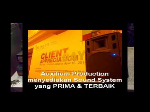 DAHSYAT Rental Sound System di Ritz Carlton Jakarta - Kotak AuxiliumPro 0815 1313 9631