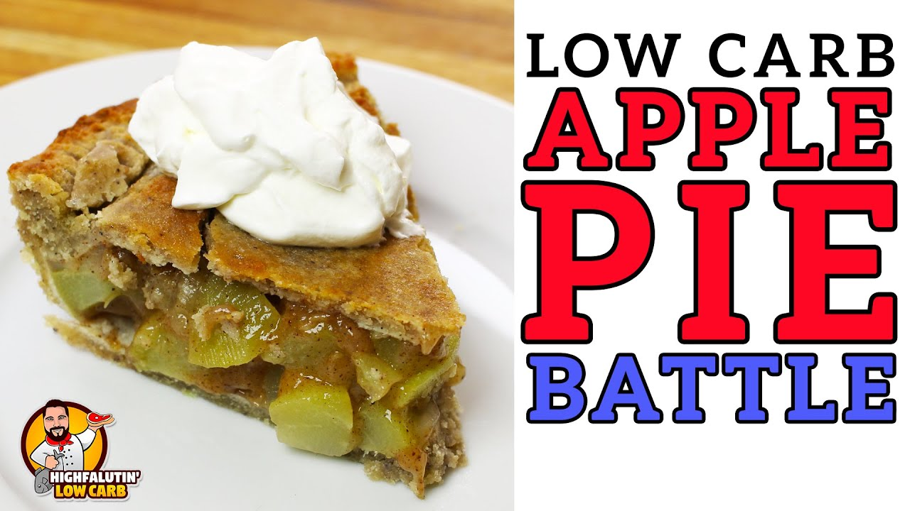 Low Carb APPLE PIE Battle - The BEST Keto Mock Apple Pie Recipe!