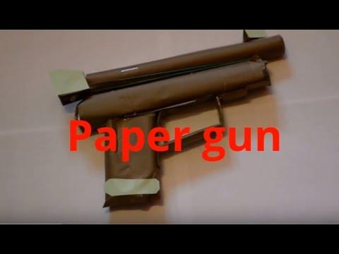 comment faire un pistolet à papier qui tire - tutoriels faciles