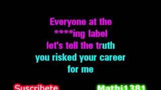 Eminem - I need a Doctor Karaoke