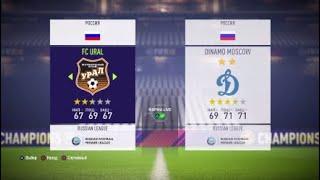 Урал Динамо прогнозы на матч и ставки на спорт бесплатно