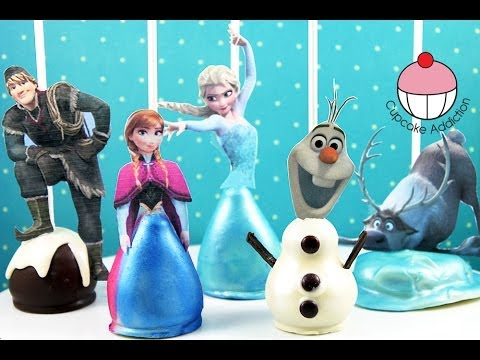 FROZEN CAKE POPS All The Disney Characters As
