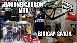 Bagong Brand ng Carbon MTB,  Binigay Sakin! (Meron din silang Road Bike)