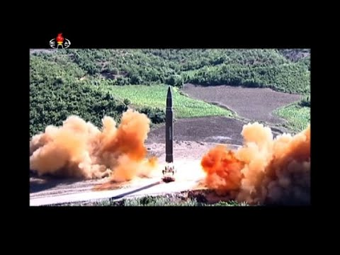 N.Korea tests intercontinental ballistic missile for first time