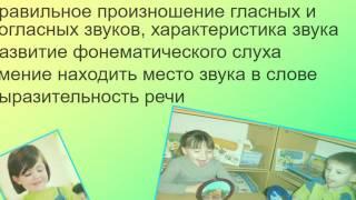 Обучение грамоте дошкольников