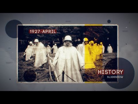 History Slideshow - After Effects template - 동영상